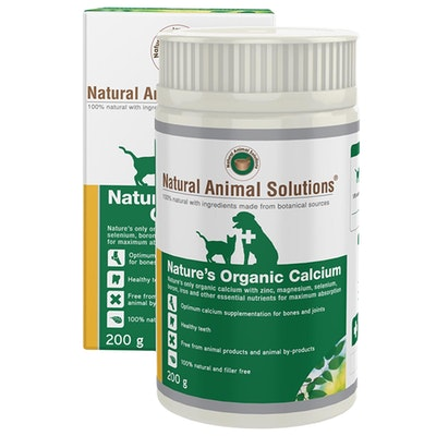 Natural Animal Solutions Nas Organic Calcium Animal Bone Support 200g