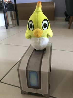 Overwatch - Ganymede plush with original box