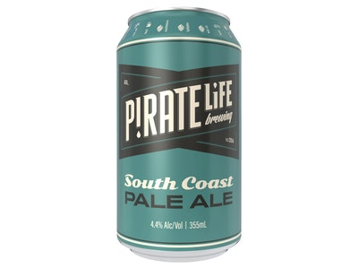 Pirate Life South Coast Pale Ale Can 355mL