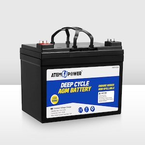 12V 50Ah AGM Battery Deep Cycle Mobility Scooter Camping Golf Cart