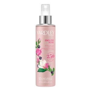 Yardley London English Rose 200ml Moisturising Women Fragrance Body Mist