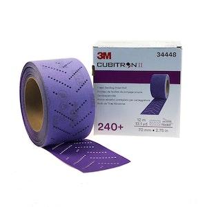 3M Clean Sanding Sheet Roll 240+, 70mm, 34448