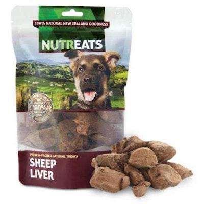 NUTREATS Sheep Liver Dog Treats 50G