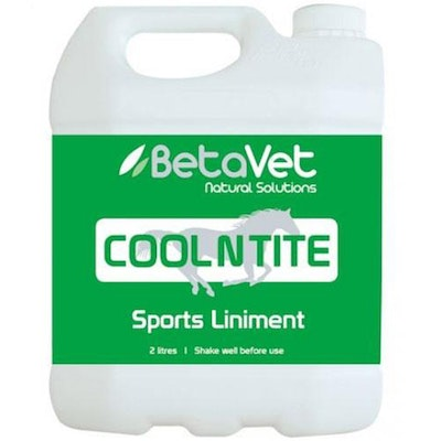 BETAVET Natural Solutions Horse Cool N Tite Cooling Liniment - 3 Sizes