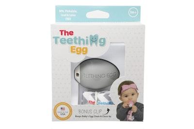 The Teething Eggs light Grey