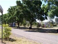 Griffith Caravan Village shady sites.