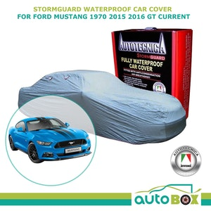 Stormguard Waterproof Car Cover for Ford Mustang 1970 2015 2016 GT Current