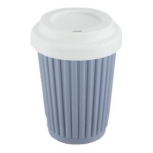 Onya BYO Coffee Cup Regular 355ml (12oz) Grey/Blue
