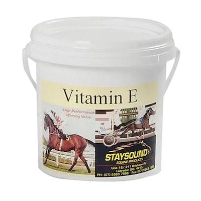 Staysound Vitamin E Powder Horse Vitamin Supplement - 3 Sizes