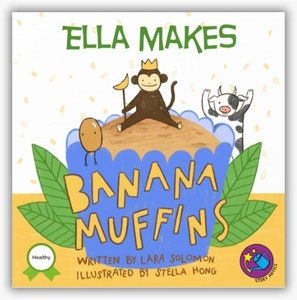 You are the Chef: Banana Muffins Personalised Recipe Storybook