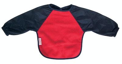 Silly Billyz Small Long Sleeve Red/Navy Fleece Bib