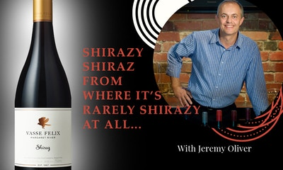 Shirazy shiraz from where it's rarely shirazy at all...
