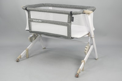 BEDSIDE SLEEPER (with FREE Carry bag) - WHITE WASH COLOUR