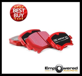 EBC RED STUFF REAR BRAKE PADS for Nissan Skyline R33 Turbo GTST 1993-1998 DP3826