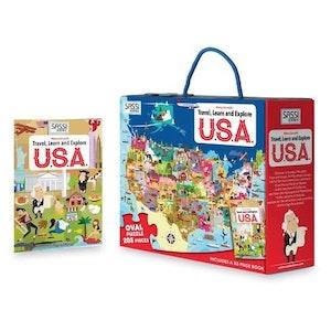 Sassi Junior Sassi - Travel, Learn and Explore - USA 205 pce