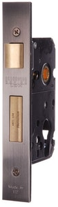 BDS Protector 735-60 euro style mortice lock in SCP finish