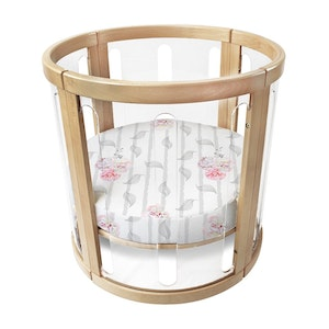 Babyhood Amani Bebe Organic Round Fitted Sheet (Bassinet)