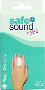 Safe + Sound Finger Dressing 2pack