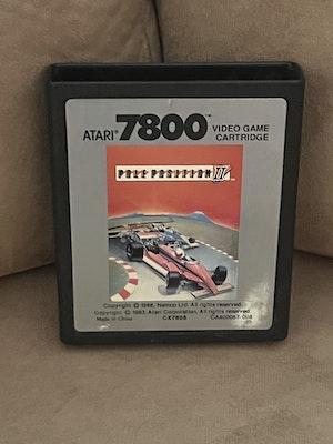Atari 7800 Pole Position 2 Cart