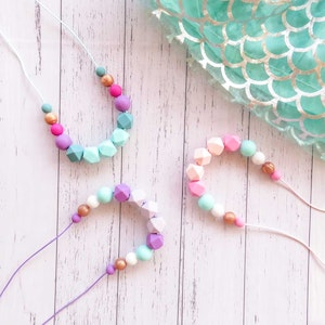 Marli & Me™ WILLOW silicone necklace | MERMAID collection