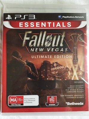 Fallout New Vegas: Ultimate Edition PS3 New and sealed.