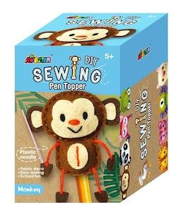 Avenir -  Sewing - Pen Topper - Monkey