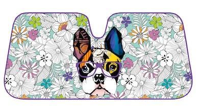 French Bulldog Design Premium Sunshade