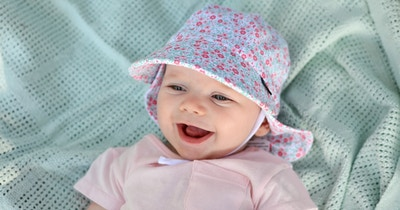 Bringing Baby Home: Why Baby Needs a Sun Hat