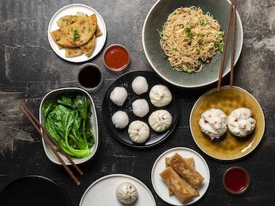 David's Vegan Yum Cha Feast $35 per person