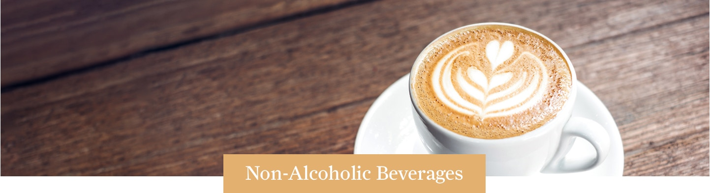 Non-Alcoholic Beverages Banner