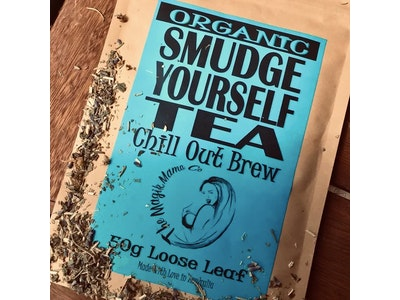 The Magik Mama Co Smudge Yourself Tea   Chill Out Brew