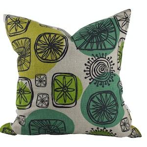 Atom Cushion cover - Green