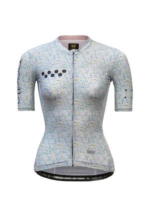 Pedla OFF GRID / Women's Roamer Jersey - Speckle White