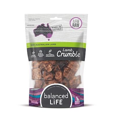 BALANCED LIFE Air Dried Raw Lamb Crumble Dog Chew Treat 45g