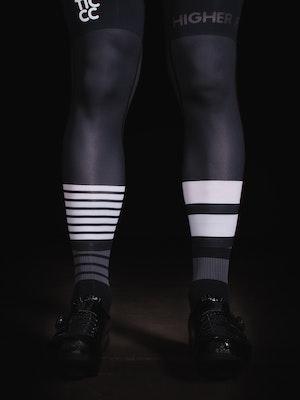 TIC CC 3/4 Leg warmers Storm black