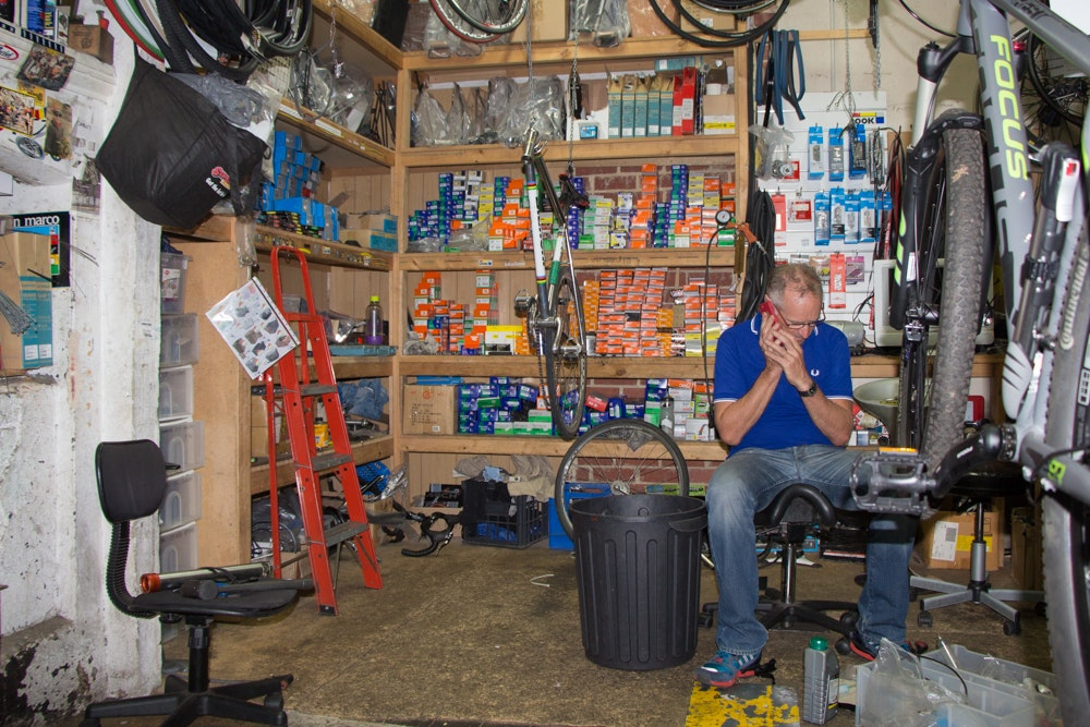 inside the shop glen parker