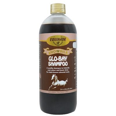 Equinade Showsilk Glo Horse Bay Shampoo Brightens Shines - 6 Sizes
