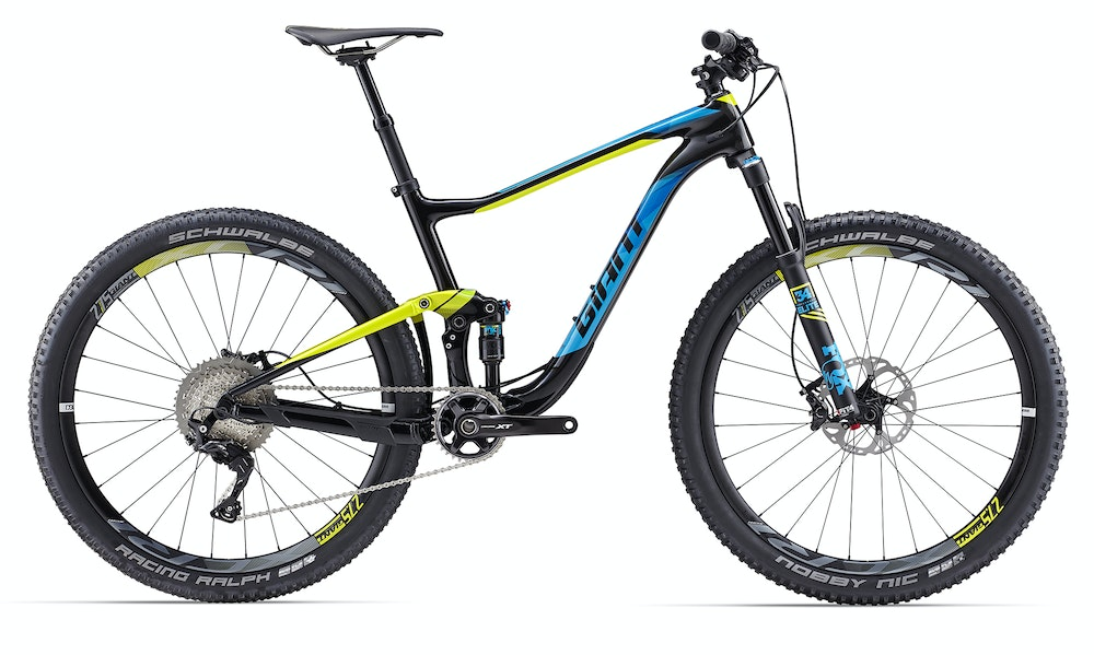 Giant Anthem ADV 1 Comp Yellow BikeExchange 2017