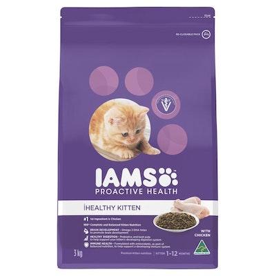 Iams Healthy Kitten Chicken Dry Cat Food