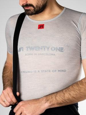 Twenty One Cycling Factory Midweight Merino Mesh base layer - Men