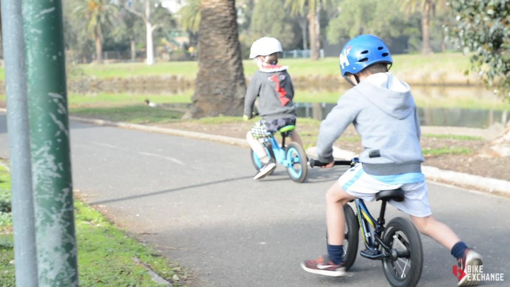 Sicher im Straßenverkehr - Kinder auf dem Rad