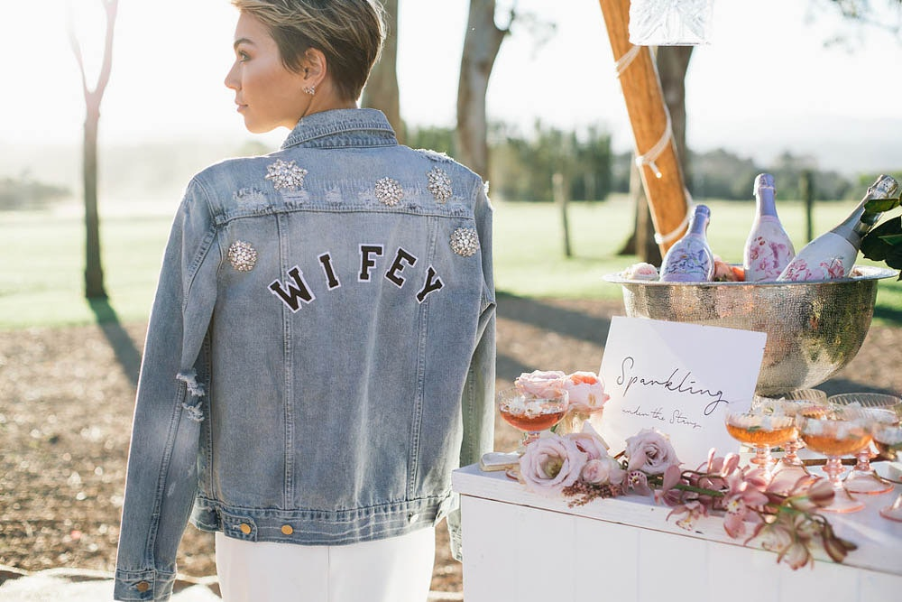 wedding denim jacket trend lenzo