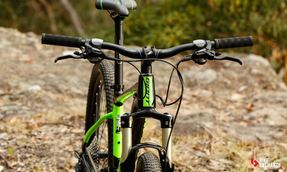 fullpage Giant Fathom 29er 2 2017 mountain bike review bikeexchange 21