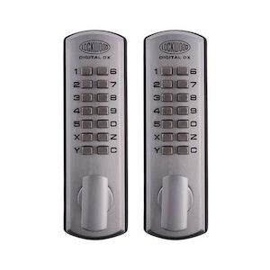 Lockwood 530DX Push Button Lockset