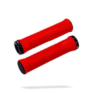 Python Grips 142Mm Red/Lockring Black