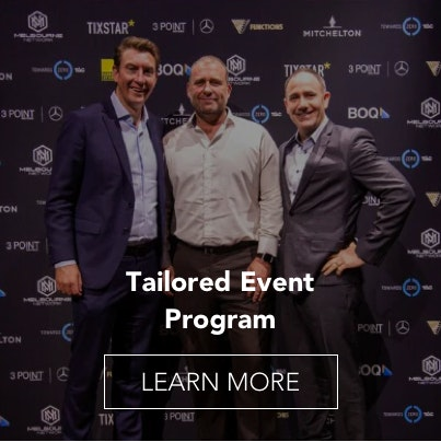 Tailored Event Program