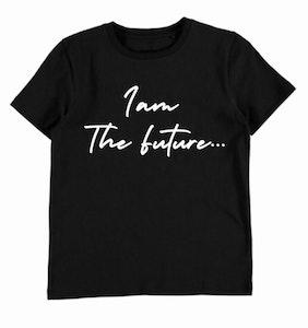I am The Future Tee - Black