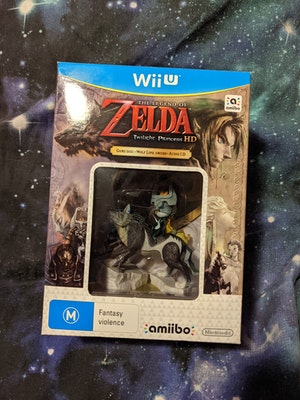 The Legend of Zelda Twilight Princess HD Special Edition Sealed Wolf Link Amiibo