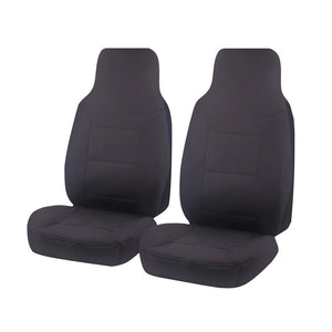 All Terrain Car Seat Covers For Toyota Hilux Single Cab Chassis 2015-2020 | Charcoal