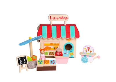 Kaper Kidz GROCERY STORE WITH CARRY HOUSE